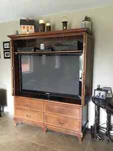 Solid Wood TV Entertainment cabinet