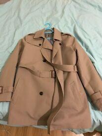 Beige Trench Coat - brand new (Burton menswear)