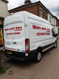 Eastleigh Man and van