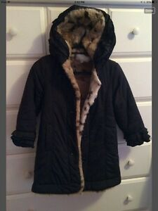 Reversible girls winter coat West Island Greater Montréal image 1