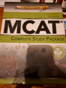 MCAT 7th edition complete study package