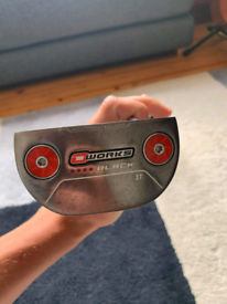 Odyssey O works 3T putter 34inches