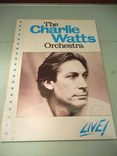 charlie watts orchestra live! program