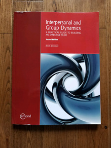 Interpersonal and Group Dynamics - Second Edition