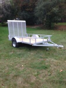 5'x8' Galvanized utility trailer (Brand New)