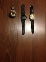 3 watches for sale