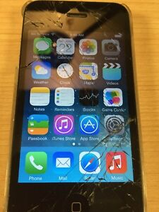 iPhone 4 8GB, broken screen, Rogers
