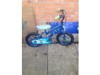 """Children's Ben 10, 14"""" bike"""