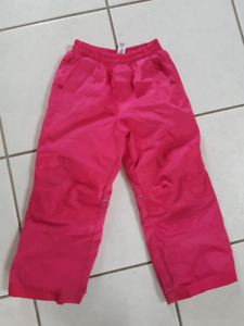 Girls snow pants - size 4