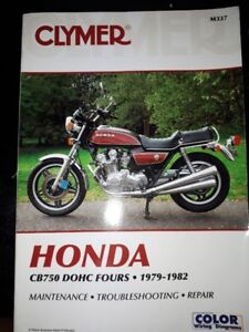 Honda CB 750 manuals