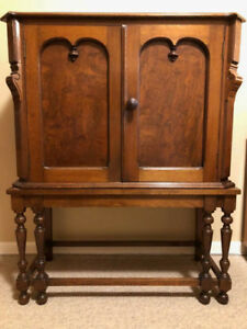 Antique Wooden Hutch