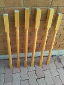 Used oak staircase spindles for sale