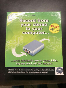 RECORD TAPES AND RECORDS TO YOUR COMPUTER