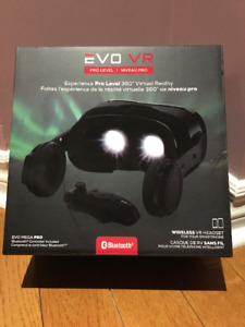 EVO Mega Pro VR Headset.  In the Box, Never Been Opened!!