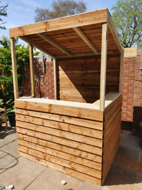 6 X 4 GARDEN BAR ASSEMBLED FREE LOCAL DELIVERY