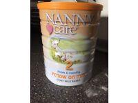 Nanny Care Follow on milk formula RRP £22