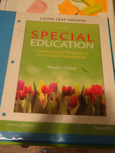 Special Education Contemporary Perspectives