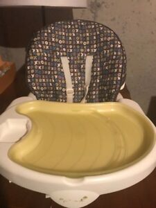 Portable Baby Highchair with reclining feature