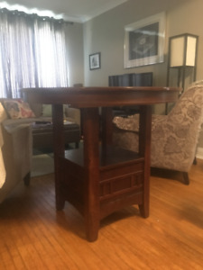 BAR/COUNTER HEIGHT DINING TABLE FOR SALE