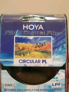 Hoya 62mm Circular Polarizing Pro 1Digital MC Filter $50