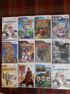 JEUX WII, AUGMENTE TA COLLECTION