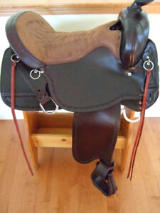 +++Awesome Northwest Trail Tucker Saddle in new condition+++