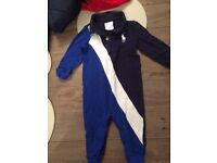 Kids Ralph Lauren romper suit