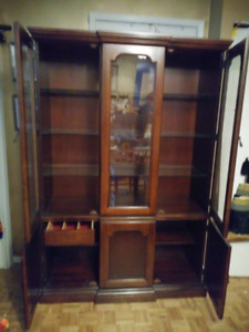 Lighted Modern China Cabinet - $250