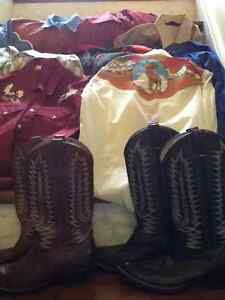 Western clothing - square dancing shirts and boots St. John's Newfoundland image 2