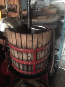 wine press machine
