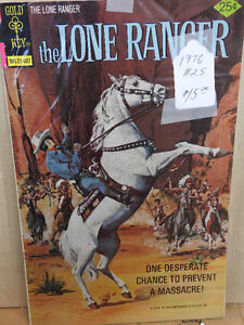 The Lone Ranger  comics 50% off retail nine of them 1965 to 1975