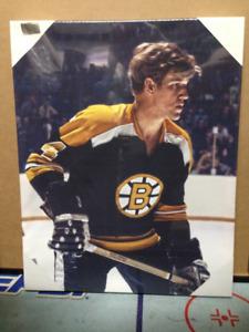 Bobby Orr Boston Bruins Framed Canvas Photo - NEW
