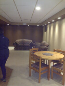 St Anne ave basement suite, available May 1st