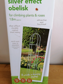 Brand new garden obelisks