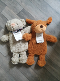 Brand new with tags hot water bottles