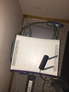 Xbox 360 with games and controllers Strathcona County Edmonton Area image 3