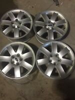 4-17 inch Ford OEM alloy rims