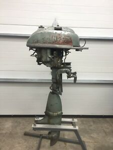 1950 Johnson 5HP outboard motor Peterborough Peterborough Area image 1