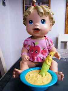 BABY ALIVE DOLL ALL ORIGINAL SPOON AND BOWL