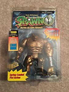 1996 Spawn Special Addition Gold Tremor MOC
