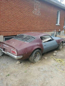 1972 Firebird needs some TLC lots of parts!