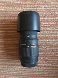 Sigma lens 70mm - 300mm macro