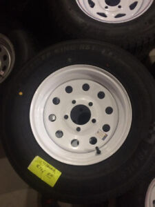 Brand New Trailer Tires and Rims 175/80R13
