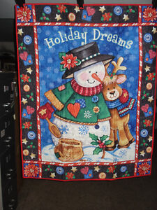 WALL HANGING - Holiday Dreams