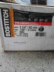 """Bostich 3 1/4 """" inch coil framing nails"""
