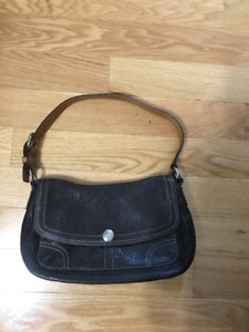 Authentic Leather Coach Purse $50