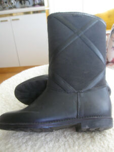CHILD'S WEATHER GUARD FUR-LINED HIGH BOOTS..SIZE #2