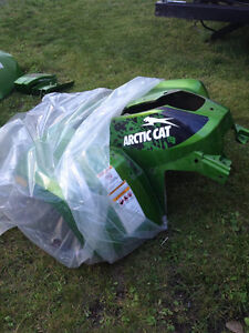 2010 Arctic Cat Mud Pro Front/Rear Fender Set and Snorkel Cover