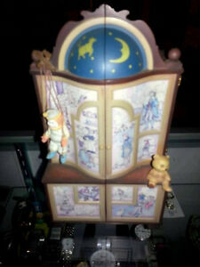 Vintage Enesco Musical Toy Box