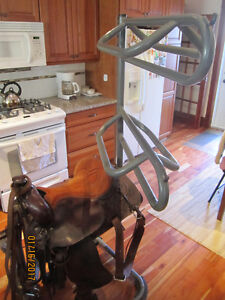 Quality Horse Saddle Stand for Qty-3 Saddles